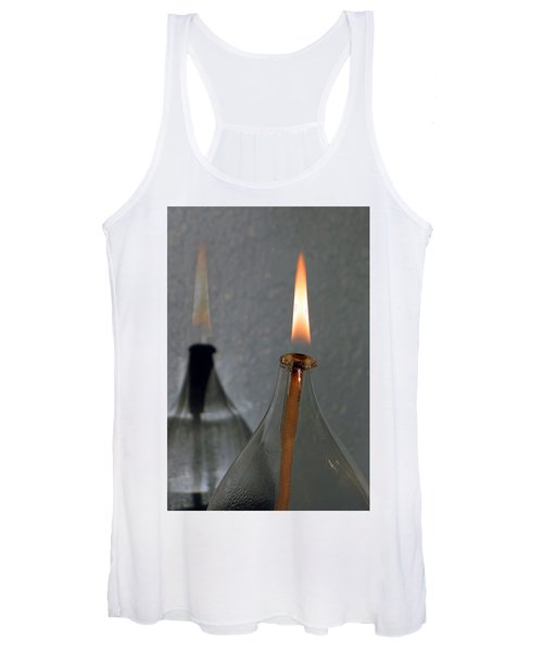 Impossible Shadow Oil Lamp Women's Tank Top