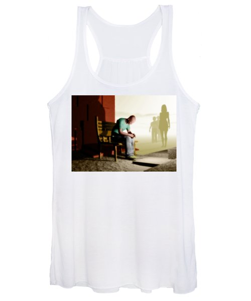 In A Fog Of Isolation Women's Tank Top