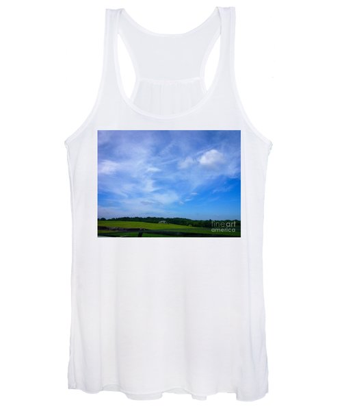 In Full View Frederick County Maryland Women's Tank Top