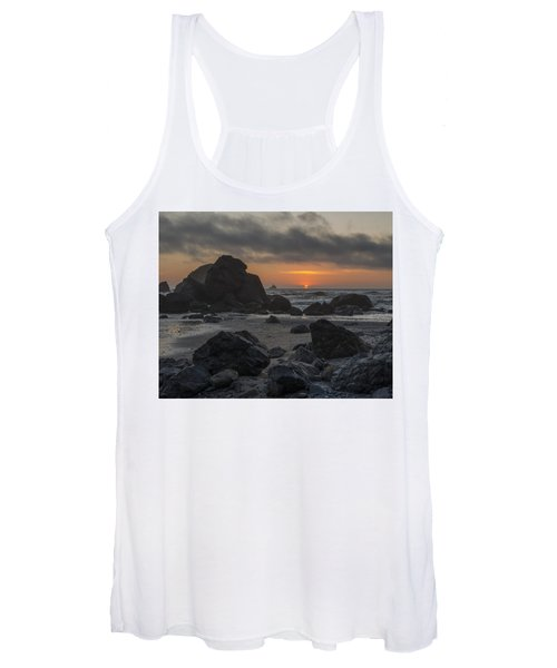 Indian Beach Sunset Women's Tank Top