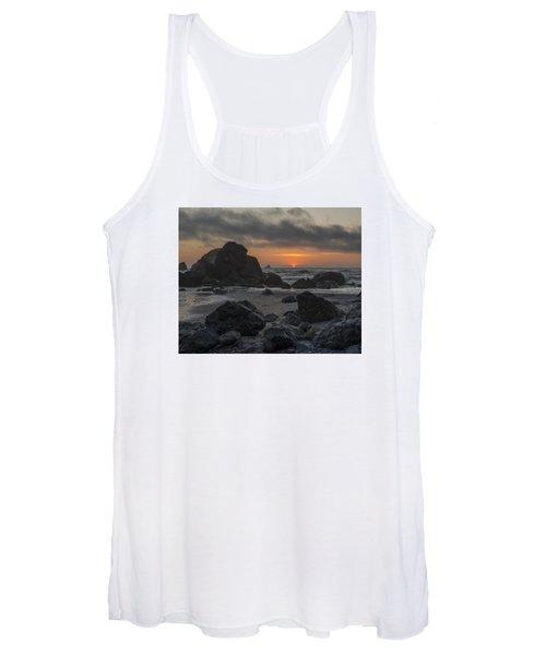 Indian Beach Sunset Women's Tank Top