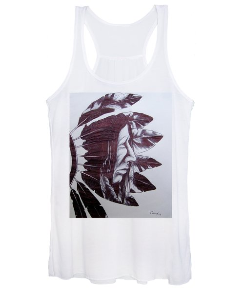 Indian Feathers Women's Tank Top