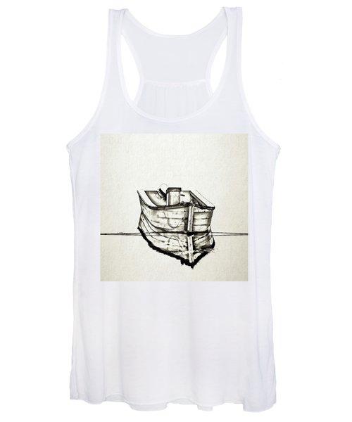 Ink Boat Women's Tank Top