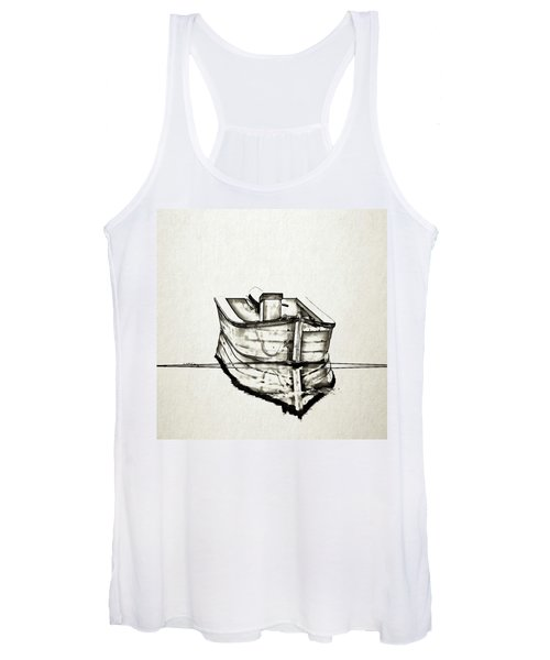 Ink Boat Women's Tank Top