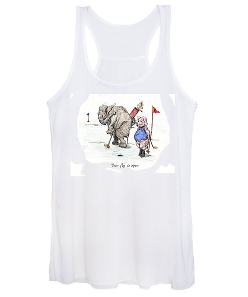 Interrupting Concentration Women's Tank Top