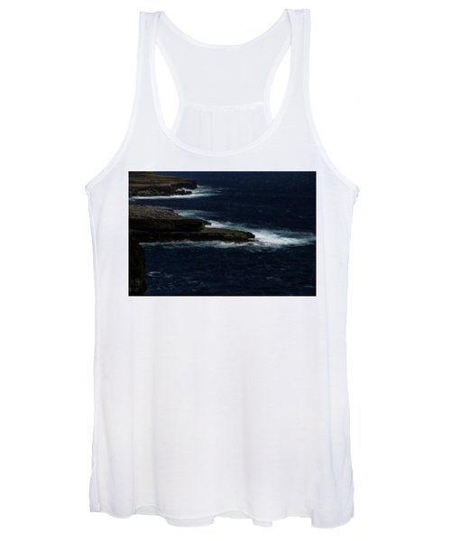 Ireland Inishmore Aran Island Coastal Landscape Women's Tank Top