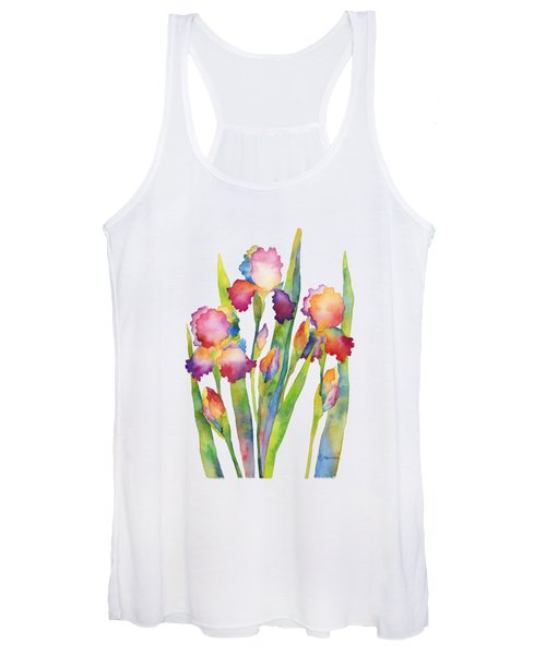 Iris Elegance Women's Tank Top