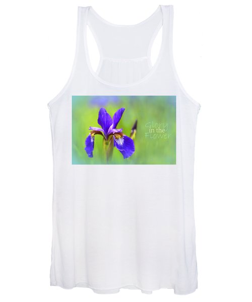 Iris Elegance Women's Tank Top