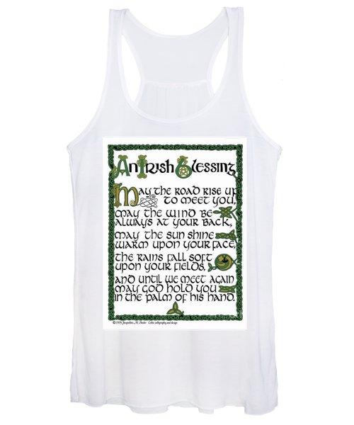 Irish Blessing Women's Tank Top