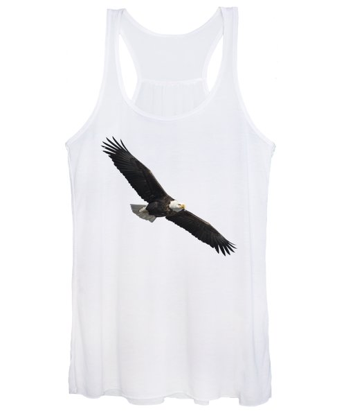 Isolated American Bald Eagle 2016-2 Women's Tank Top