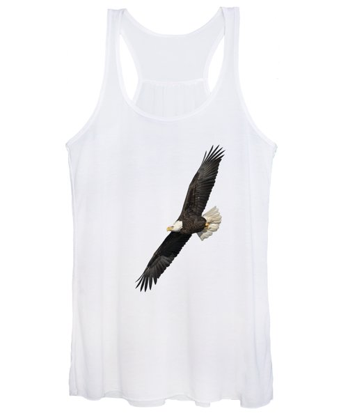 Isolated American Bald Eagle 2016-3 Women's Tank Top