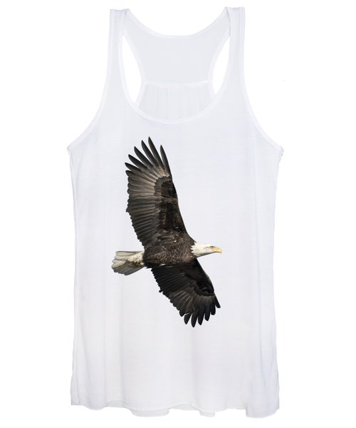 Isolated American Bald Eagle 2016-4 Women's Tank Top