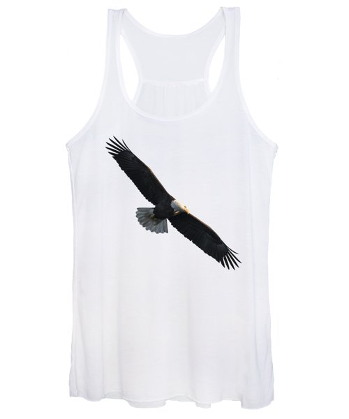 Isolated American Bald Eagle 2016-5 Women's Tank Top