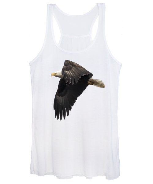 Isolated American Bald Eagle 2016-6 Women's Tank Top