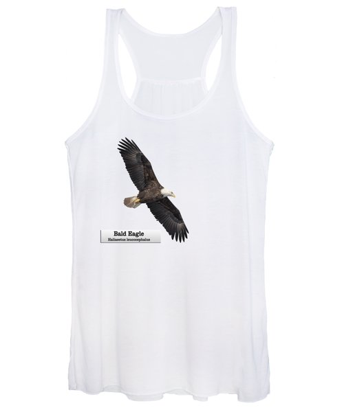 Isolated Bald Eagle 2018-1 Women's Tank Top