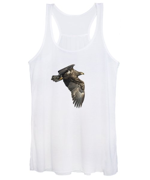 Isolated Eagle 2017-2 Women's Tank Top