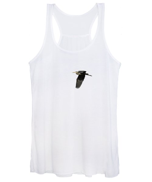 Isolated Great Blue Heron 2015-4 Women's Tank Top