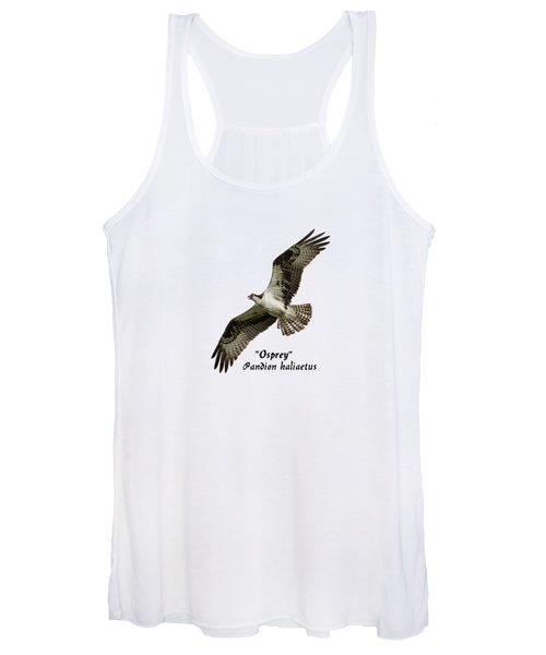 Isolated Osprey 2017-1 Women's Tank Top