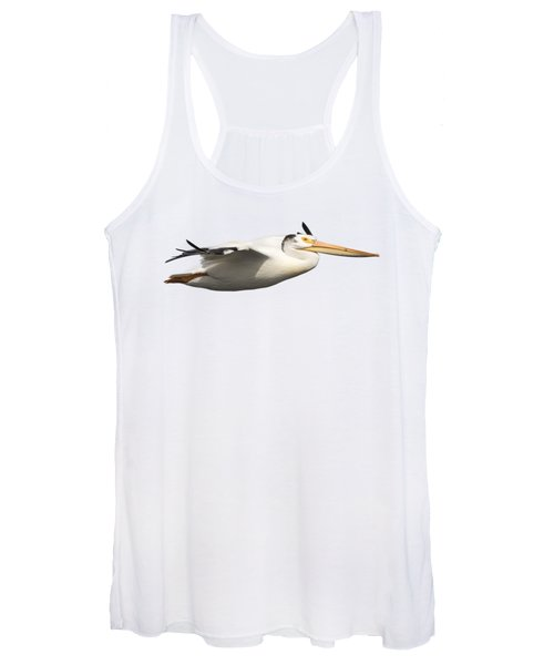 Isolated Pelican 2016-1 Women's Tank Top