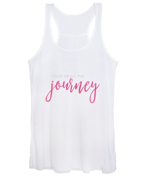 It's All About The Journey Women's Tank Top