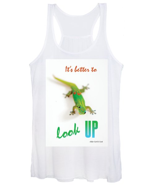 Its Better To Look Up Women's Tank Top