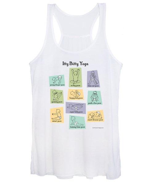 Itty Bitty Yoga Women's Tank Top