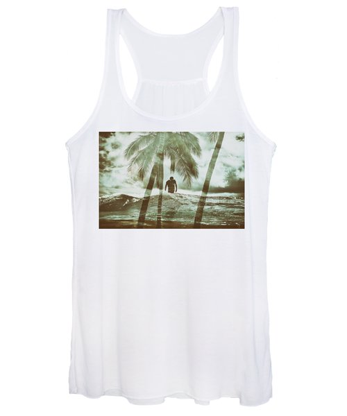 Izzy Jive And Palms Women's Tank Top