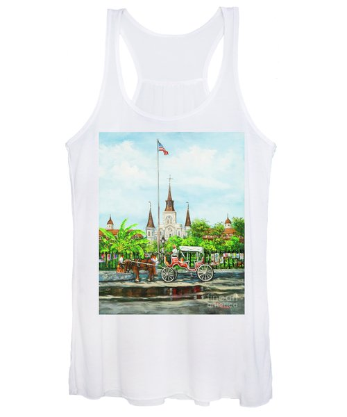 Jackson Square Carriage Women's Tank Top