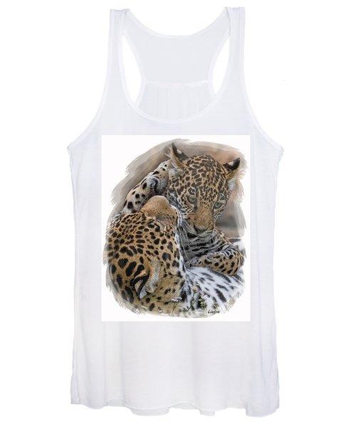 Jaguar Mother And Cub 4 Women's Tank Top