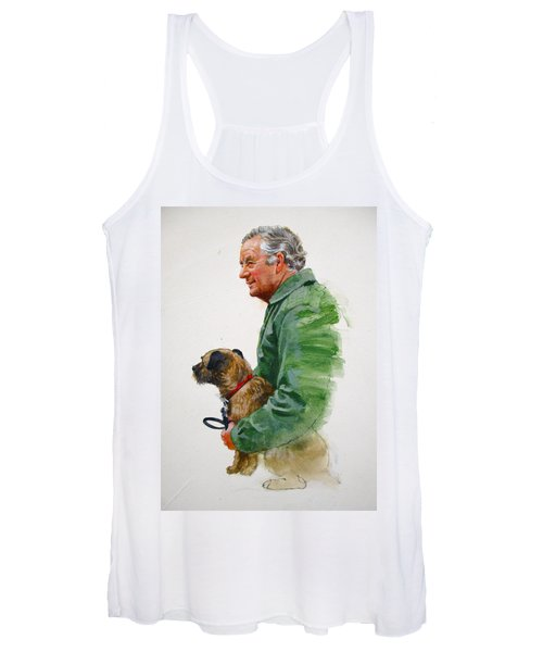 James Herriot And Bodie Women's Tank Top
