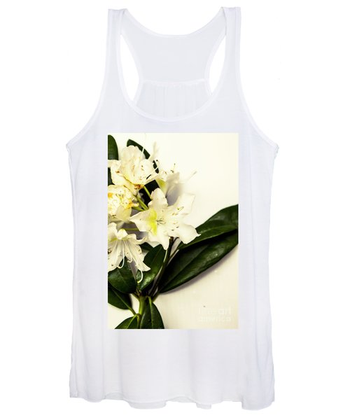 Japanese Flower Art Women's Tank Top