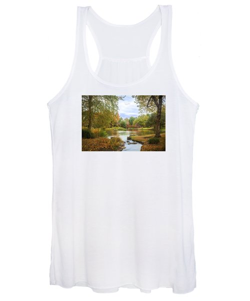 Japanese Garden View Women's Tank Top