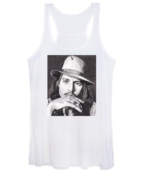 Johnny Depp Women's Tank Top