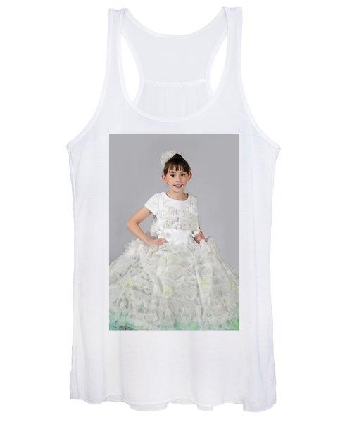 Josette In Dryer Sheet Dress Women's Tank Top