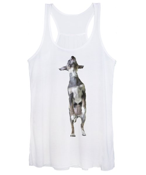 Jumping Dog Tee Women's Tank Top