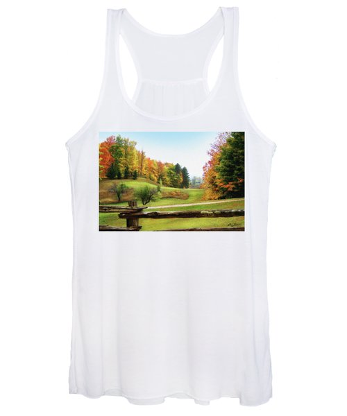 Just Over The Next Ridge Women's Tank Top