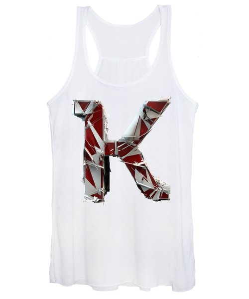 K Is For King Women's Tank Top