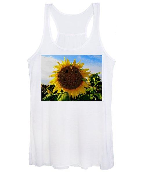 Kansas Sunflower Women's Tank Top