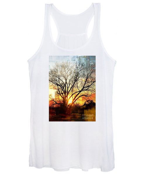 Kansas Sunset Women's Tank Top