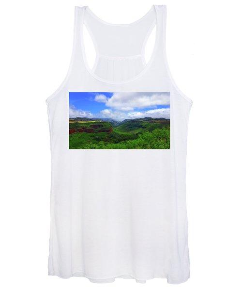 Kauai Mountains Women's Tank Top
