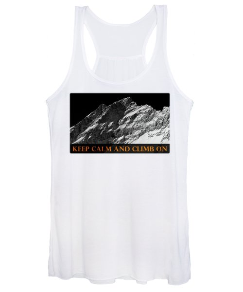 Keep Calm And Climb On Women's Tank Top