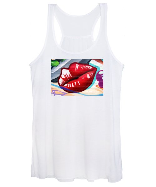 Kiss Me Now ... Women's Tank Top