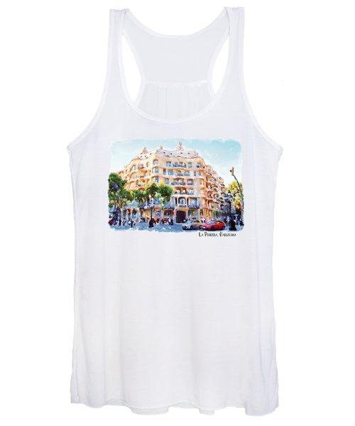 La Pedrera Barcelona Women's Tank Top