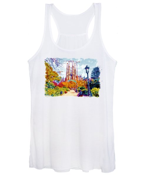 La Sagrada Familia - Park View Women's Tank Top