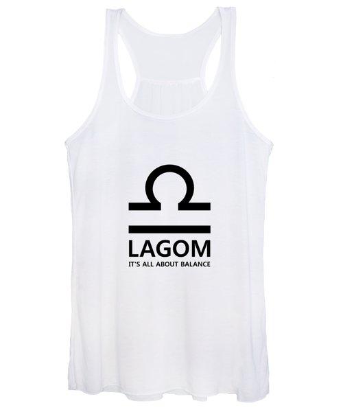 Lagom - Balance Women's Tank Top