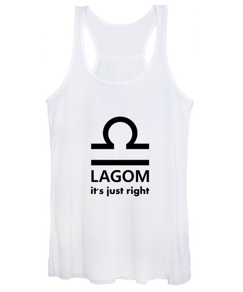 Lagom - Just Right Women's Tank Top