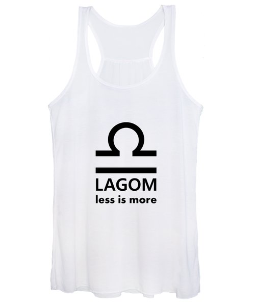 Lagom - Less Is More I Women's Tank Top