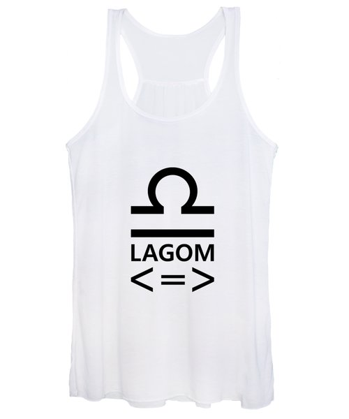 Lagom - Less Is More II Women's Tank Top