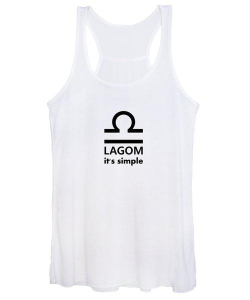 Lagom - Simple Women's Tank Top