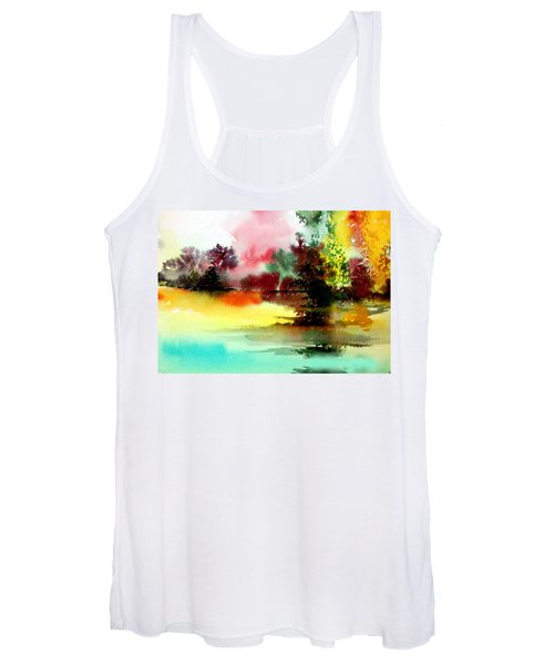 Lake In Colours Women's Tank Top